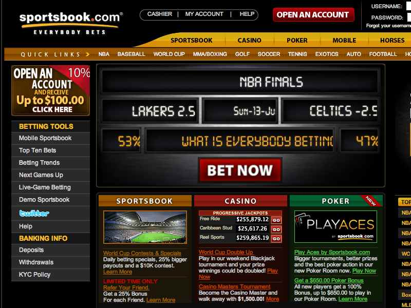Sportsbook-betting